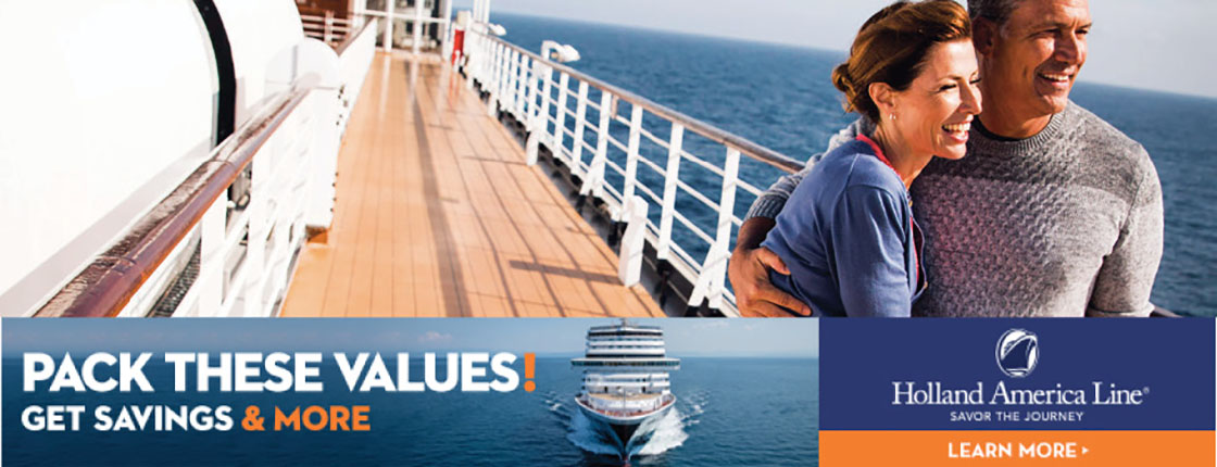 Holland America Line - Pack These Values