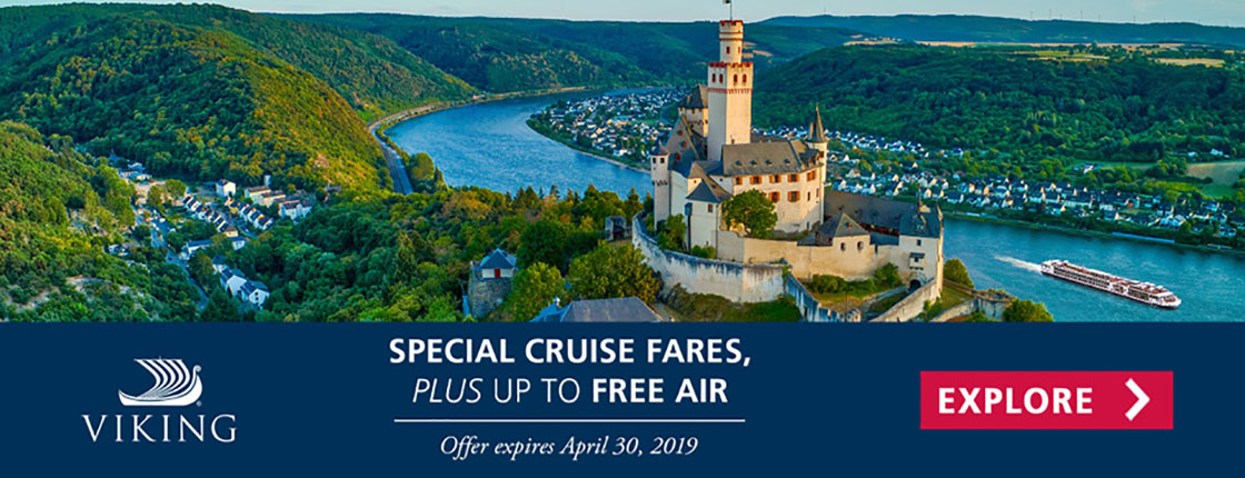 Viking Cruises - Special Fares and up to Free Air
