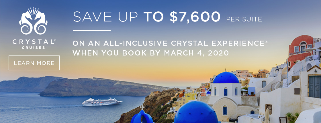 Crystal | Save Up to $7600 per Suite