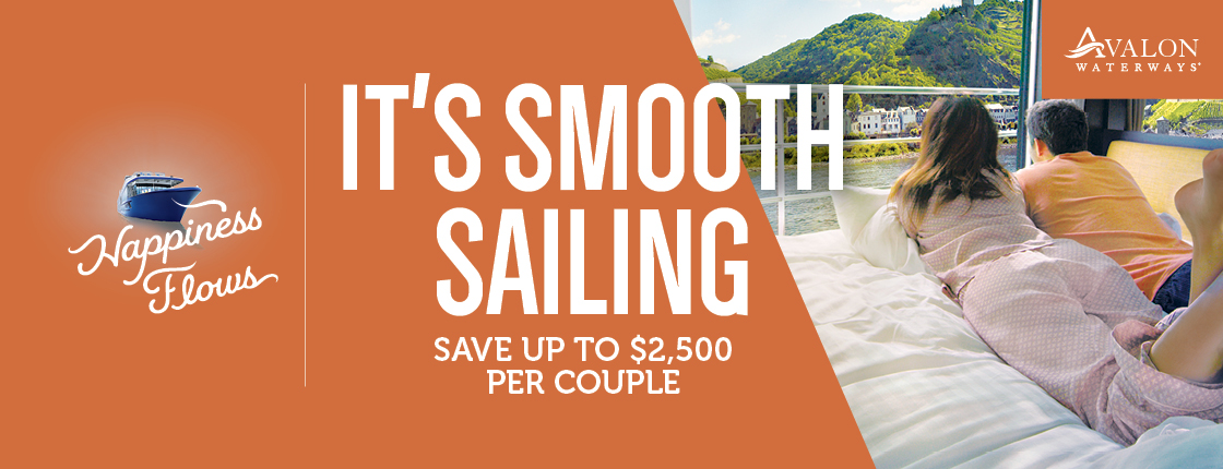 Avalon Waterways | Save up to $2,500 per couple!