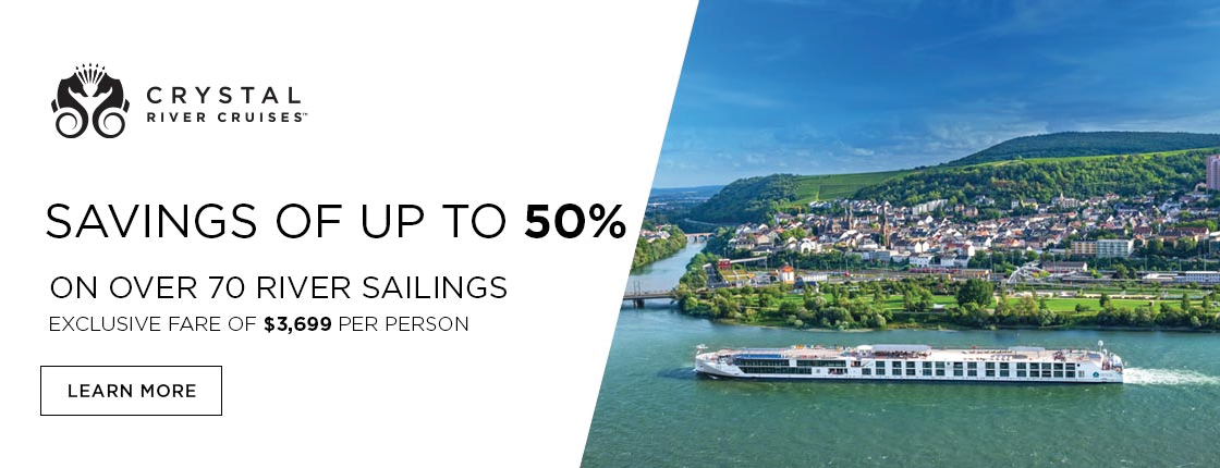 Crystal | Savings of Up to 50% on River Cruises